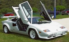 1985-Lamborghini-Countach-White-Front-Angle-Open-Doors la mia adsl