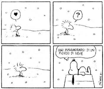 amare la neve