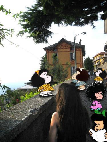 mafalda e monica 2009