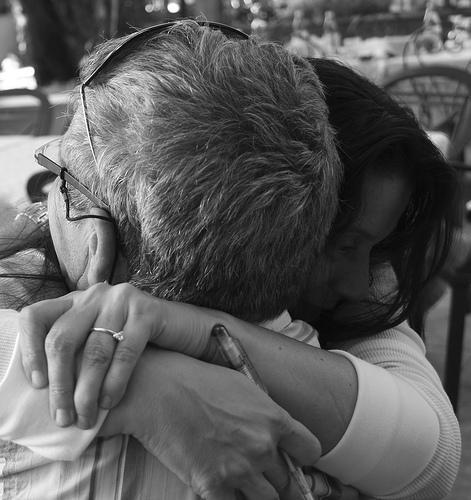 Monichina Abbraccio dolcissimo con il mio amico Antonio