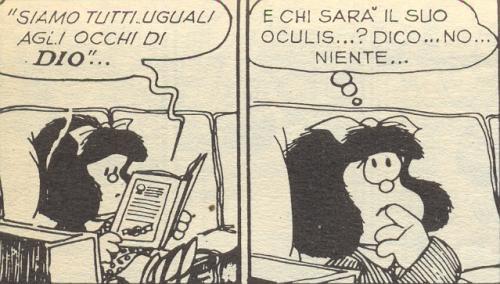 Mafalda dice niente...