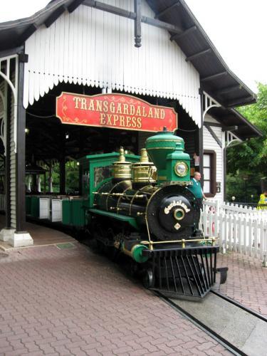treno di gardaland