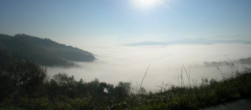 Lago di nebbia foto di  BRIGANT grazie del regalo